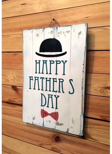 Happy Fathers Day Tablo-Oldwooddesign